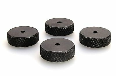 Speaker spike pads shoes feet  15mm black - Set of 4 pieces