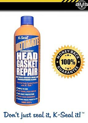 K Seal Ultimate PERMANENT Head Gasket & Block Repair - FREE NEXT DAY DELIVERY