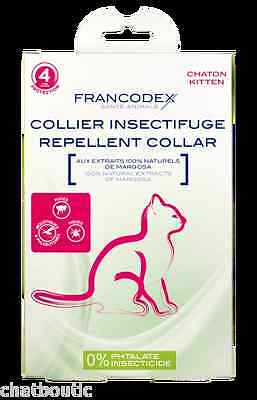 Collier Insectifuge Chaton - 175200 • EUR 4,10