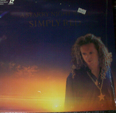 """SIMPLY RED """"A starry night"""" LASER DISC"""