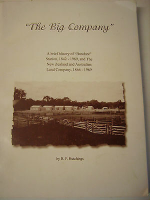"NSW ""BUNDURE"" STATION & THE NZ & AUST LAND CO. ""THE BIG COMPANY"" Hutchings"