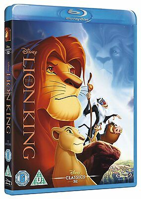 The Lion King [Blu-ray] Disney Classic  Blu-Ray Brand New FACTORY SEALED