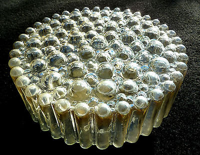 Pair Of Limburg Bubble Metallic Sconce Wall/ Flush Lamp Plafoniere 1960´s 60S