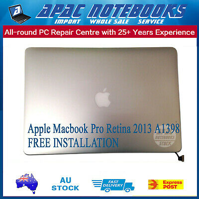 Macbook Pro Retina 2013 A1398 Complete LCD Screen Assembly (INSTALLATION)