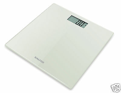 Salter Ultra Slim Glass Electronic Bathroom Digital Scales 9069 Various Colours