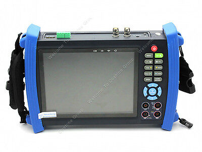 "HVT-3600M 7"" Screen Display VGA CCTV Camera Monitor input PTZ Multimeter Tester"