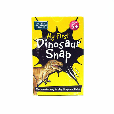 Dinosaur Snap and Pairs Cards Early Learning Game for 5+ years by Brainbox