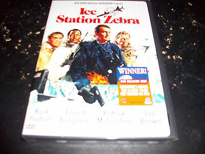 ACTION MOVIE: ICE STATION ZEBRA!! BRAND NEW & FACTORY SEALED!! OUT OF PRINT!!!