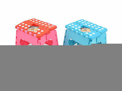 12 x Steps For Kids Foldable Pink Blue Great For Toilet Training Wholesale Lot