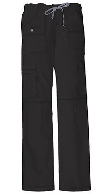 Scrubs Dickies Gen Flex Youtility Cargo Pant  857455 Black   FREE SHIPPING!