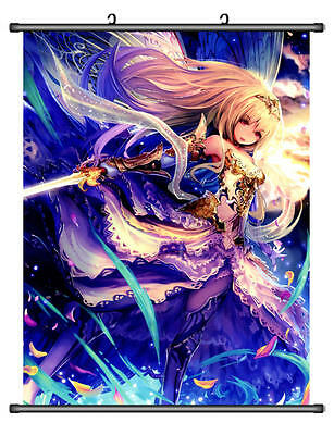 Home Decor Japan Wall poster Scroll Shingeki no Bahamut Rage of Bahamut Hobby