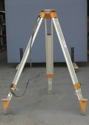 Aluminium Lightweight Tripod Surveyor Surveying Theodolite Camera *missing foot*