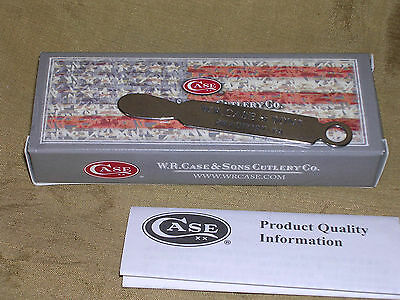 CASE XX W.R CASE & SONS HUNTING POCKET KNIFE OPENER KEY CHAIN RING W BOX !!!