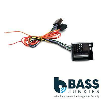 Fiat 500 2007 Onwards Replacement Car Stereo Radio ISO Wiring Harness Lead
