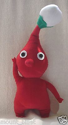 """12""""  PIKMIN  Plush Doll Red Bud Toy Thanksgiving Christmas GIFT!"""