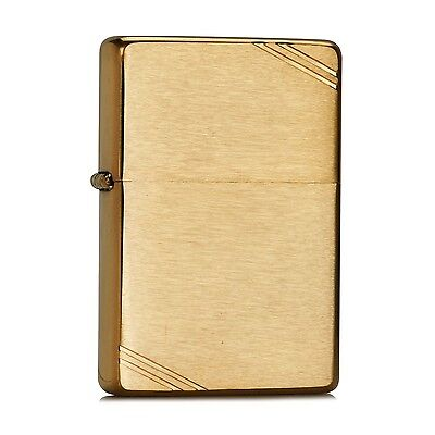 Zippo Brushed Brass Windproof Lighter 240  --- Free Ship