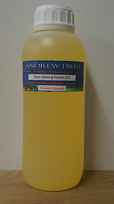 Antique clock cleaning solution 1 litre Metal cleaner