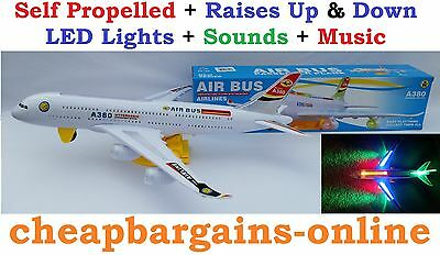 Airbus A380 Aeroplane Plane Childrens Self Propelled Play Toy Aviation Aircraft