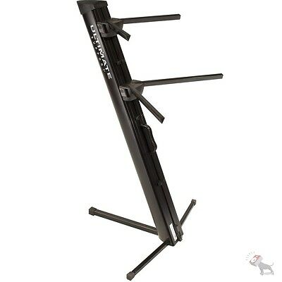 Ultimate Support Apex Series AX-48 Pro Column Keyboard Stand (Black)