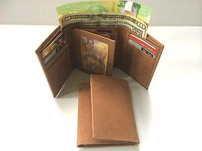 Wallet Tan AE-03 & Credit Card Holder (AEC-26) - Combo Deal