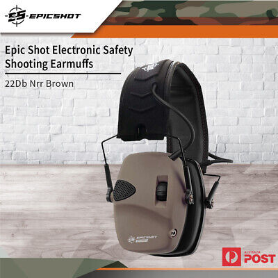 Xhunter Foldable Shooting Hunting Electronic Earmuffs W/ Input Jack Ear Muffs