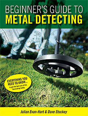 Beginner's Guide to Metal Detecting Book  FREE DELIVERY