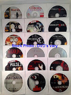 Lot of 15 DVDs  -  Previously Viewed Different  -  Different Genre & Ratings
