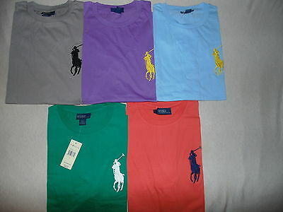 Ralph Lauren men's blue,grey,green short sleeve big pony t-shirt  s,m,l,xl,xxl