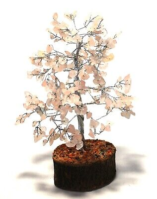 *Sale Clearance* Reiki Charged Rose Quartz 300 X Gemstones Crystals Tree
