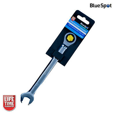 Blue Spot Tools 13mm Ratchet Spanner, Metric Combination, Fixed Head - 05106