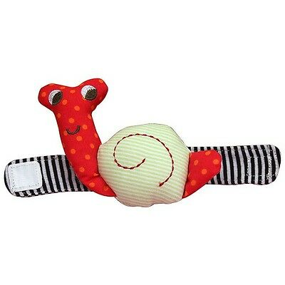 2014 New Hot Sale Infant Baby Wrist Watchs Cute Snail Hand Rattles Finders Toys