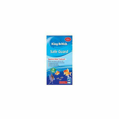 King British Aquarium Safe Guard 250ml - Accessories - Aquatic - Treatments