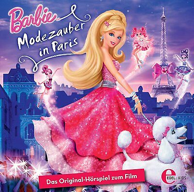 Neu Edel Cd Barbie Modezauber In Paris Original Hörspiel Zum Film