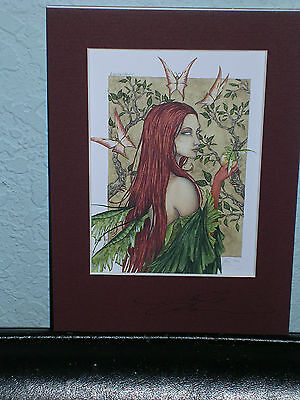 Amy Brown - Enchantment - Matted  Petite - SIGNED - VERY RARE