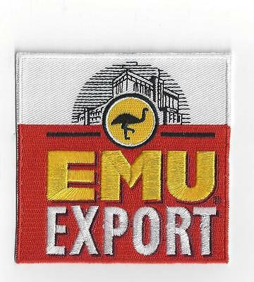 EMU EXPORT IRON ON PATCH buy 2 We send 3 of these