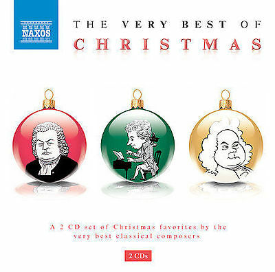 CHRISTMAS The Very Best Of Christmas,  NAXOS,  (2CD Set)  **NEW CD**