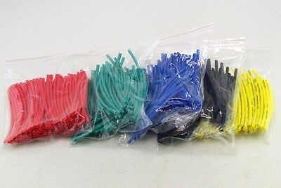 10cm 200pcs 2mm(ID)length Yellow Insulation Heat Shrink Tubing Wire Cable Wrap
