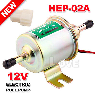 OZ J Bolt Fixing Wire Diesel Petrol Lightweight Electric Fuel Pump HEP-02 12V