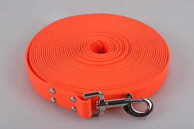 Dog & Field 10 Meter Biothane Tracking Line / Exercise Lead / Harness For Dogs