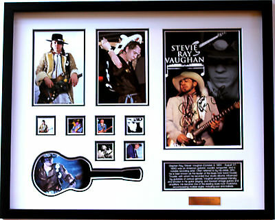 New Stevie Ray Vaughan Signed Limited Edition Memorabilia