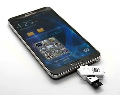 Adata MicroSD 32GB OTG Dual USB Micro Flash Pen Drive For Samung Galaxy S5 S4 S3
