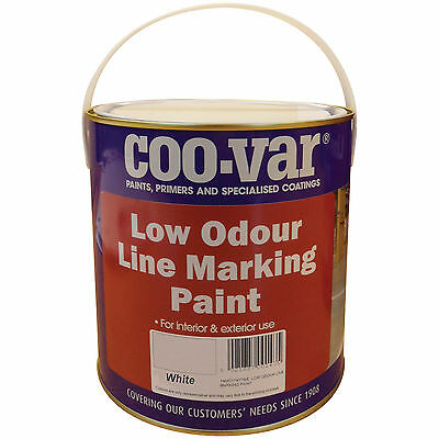 Coo-Var Low Odour Line Marking Paint | Several Colours and Volumes
