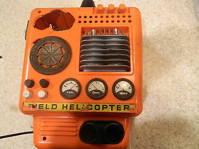 1967 Toy  Field Patrol Helicopter  A sears exclusive item one man field patrol