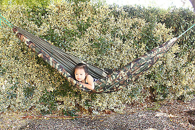 Hammock w/ Mosquito net  4' X 8' camping  backpacking hiking jungle USA FastShip