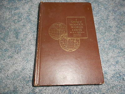 1957 CATALOG of MODERN WORLD COINS by YEOMAN SECOND EDITION VALUE GUIDE PICTURES
