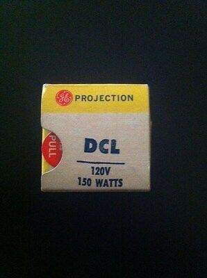 DCL Projector Projection Lamp Bulb 150W 120V GE Brand