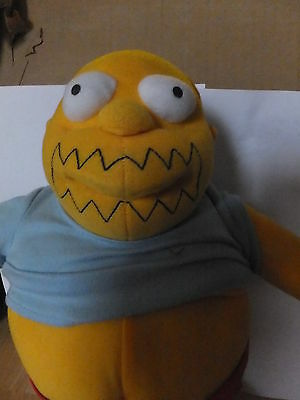"""APPLAUSE COMIC BOOK GUY PLUSH SIMPSONS 2003  - """"WORST AUCTION EVER"""""""