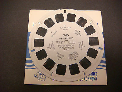Sawyer's Viewmaster Reel,1950,Shenandoah Nat'l Park,Virginia, Mary's Rock #261