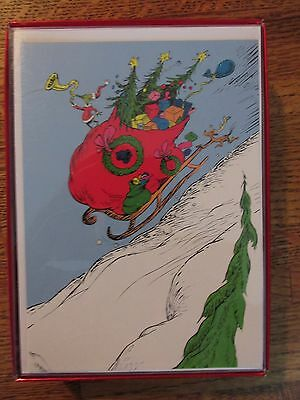 Grinch, Holiday Cards