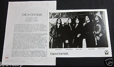 Dream Theater 'Images & Words' 1992 Press Kit #3--Photo